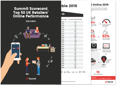 Summit Scorecard Top 50 UK Retailers' Online Performance
