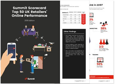 Summit Scorecard Top 50 UK Retailers' Online Performance