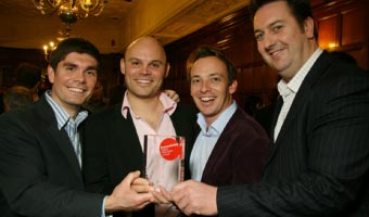 Summit and Comet win 2009 Econsultancy award for innovation