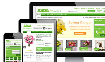 New Asda Flowers site is blooming marvellous