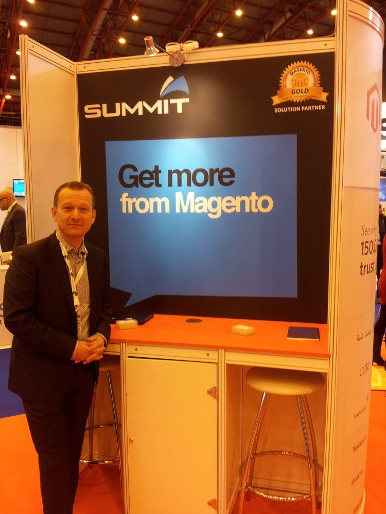 Talking Magento at the Retail Business Technology Expo