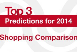 predictions in shopping comparison for 2014