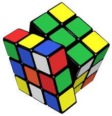 Jumbled Rubik's cube