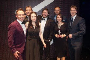 Summit and Argos team photo at UK Search Awards 2014