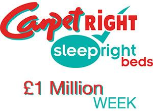 Carpetright £1m week