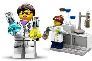 Lego female scientists