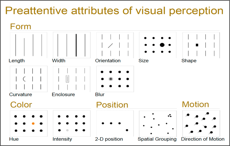 visual perception attributes